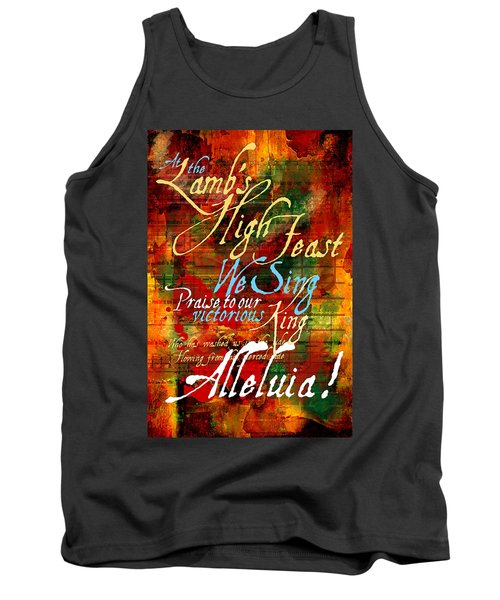 High Feast Of The Lamb Tank Top by Chuck Mountain