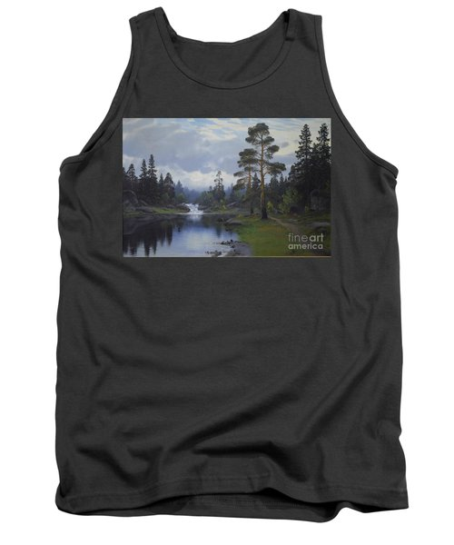 Landscape From Norway Tank Top