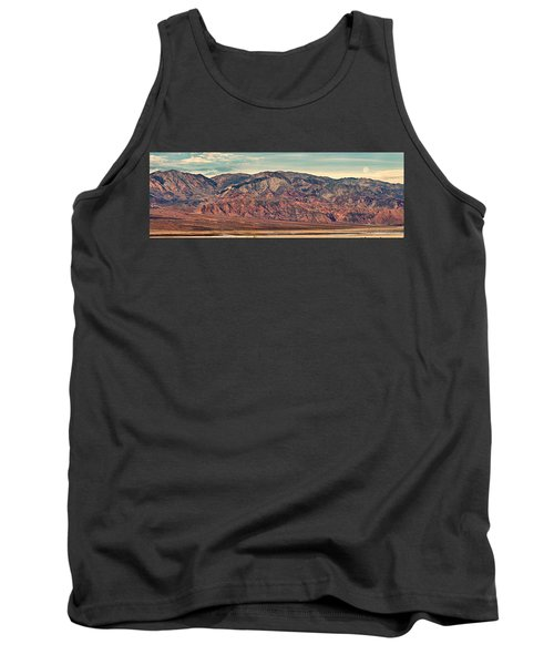 Landscape With Mountain Range Tank Top by Panoramic Images