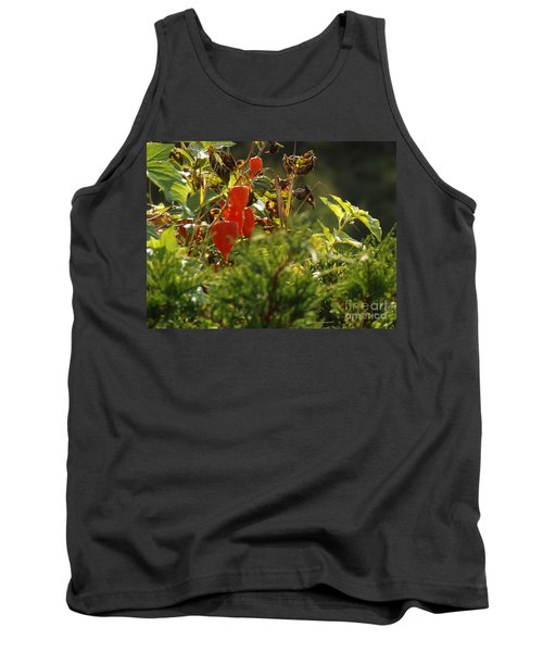 Tank Top featuring the photograph Lantern Plant by Brenda Brown