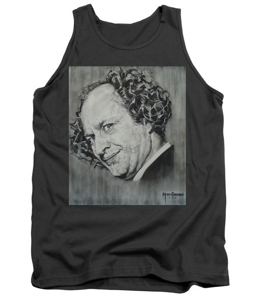 Larry Fine Of The Three Stooges - Where's Your Dignity? Tank Top