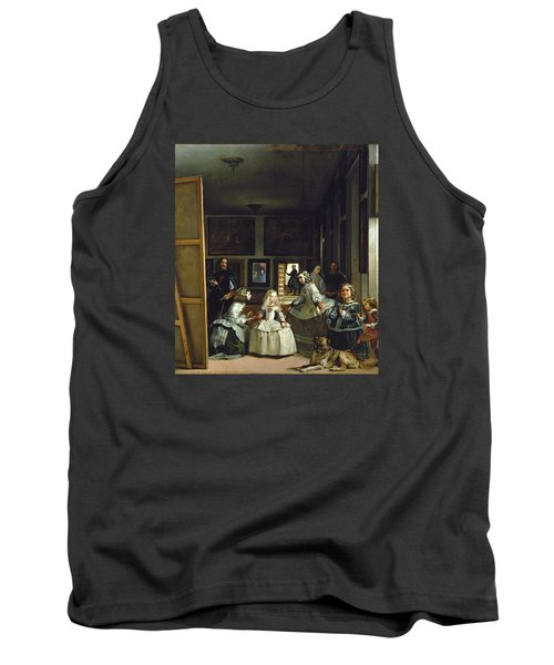 Las Meninas Or The Family Of Philip Iv, C.1656  Tank Top