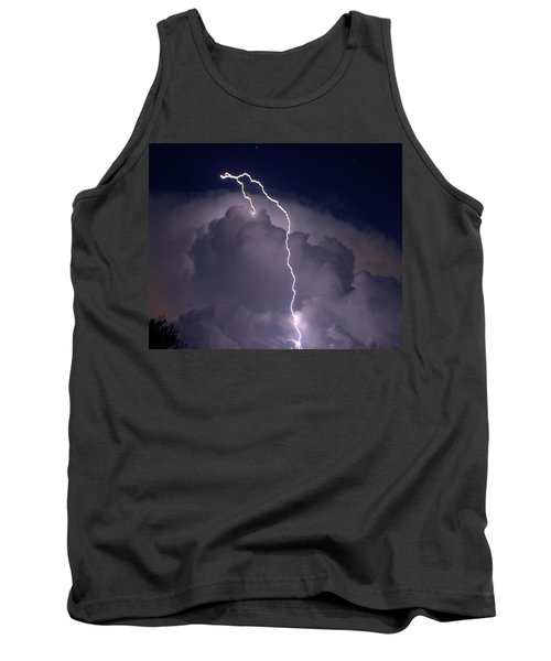 Tank Top featuring the photograph Lashing Out by Charlotte Schafer