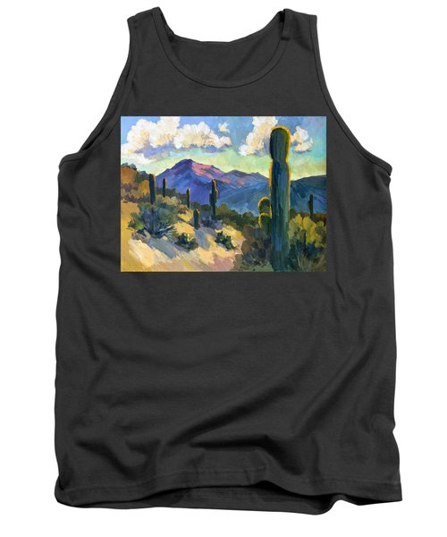 Late Afternoon Tucson Tank Top