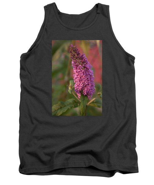 Late Summer Wildflowers Tank Top by Miguel Winterpacht