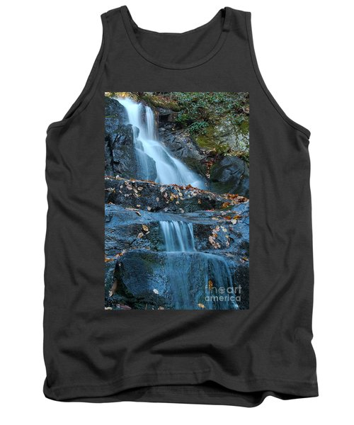 Tank Top featuring the photograph Laurel Falls by Patrick Shupert