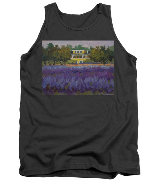Lavender Farm On Vashon Island Tank Top