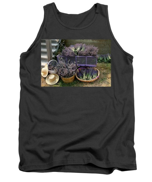 Lavender Harvest Tank Top
