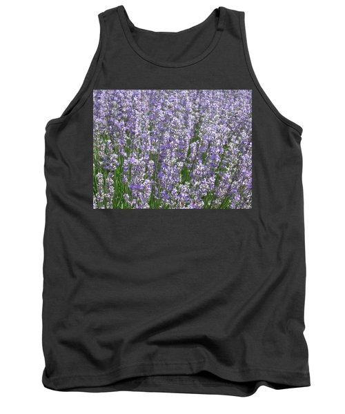 Tank Top featuring the photograph Lavender Hues by Pema Hou