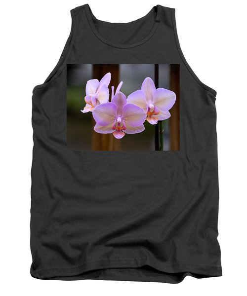 Lavender Orchid Tank Top by Kathy Eickenberg