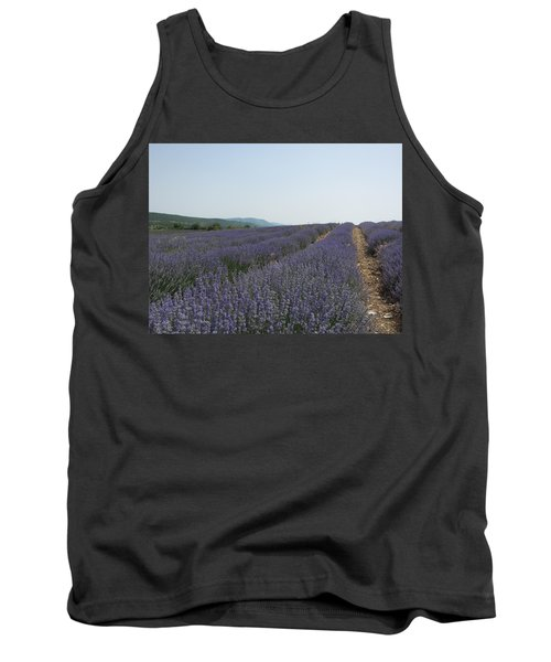 Tank Top featuring the photograph Lavender Sky by Pema Hou
