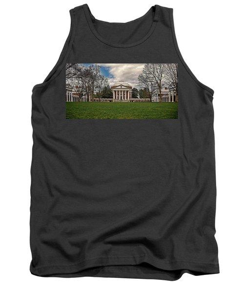 Lawn And Rotunda At University Of Virginia Tank Top