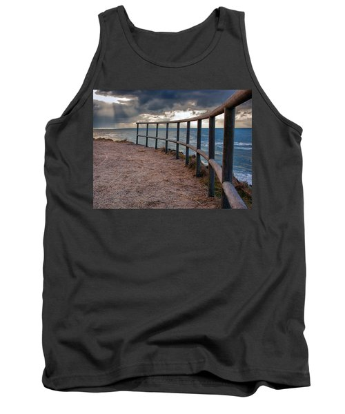 Rail By The Seaside Tank Top