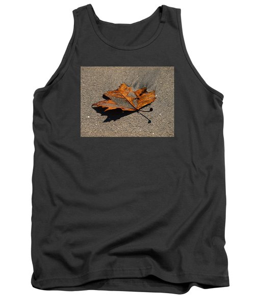 Leaf Composed Tank Top by Joe Schofield