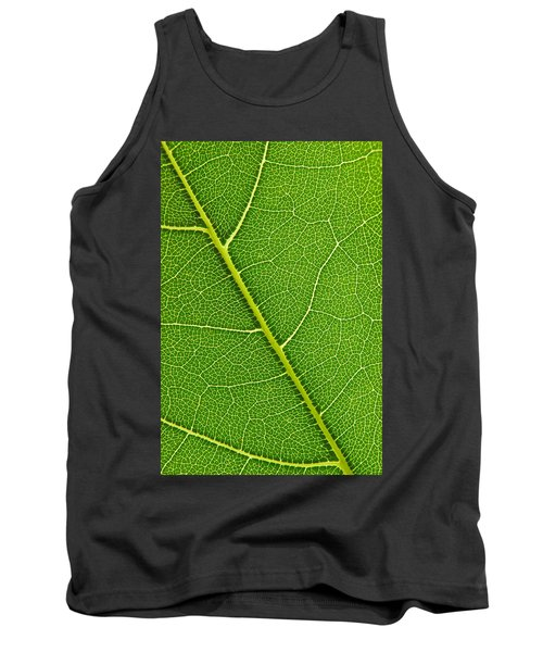 Tank Top featuring the photograph Leaf Detail by Carsten Reisinger