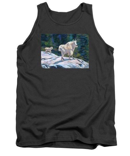 Learning To Walk On The Edge Tank Top