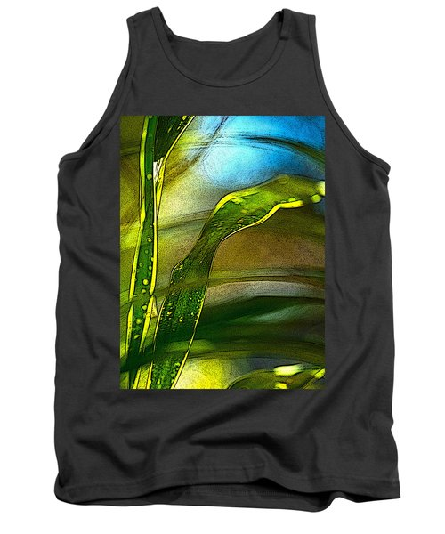Leaves And Sky Tank Top