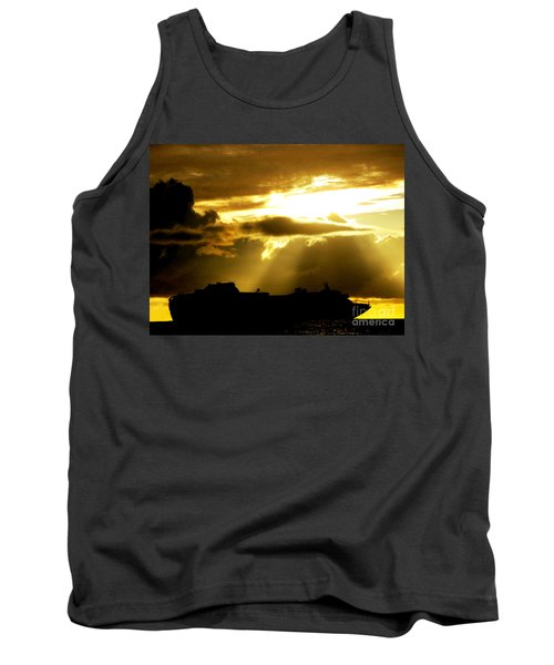 Tank Top featuring the photograph Leaving Kona by David Lawson