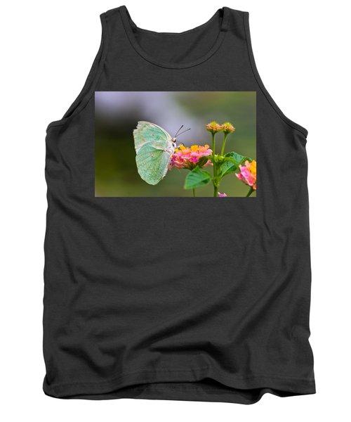 Lemon Emigrant Butterfly Tank Top