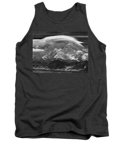 101366-lenticular Cloudcap Over Mt. Mckinley Tank Top