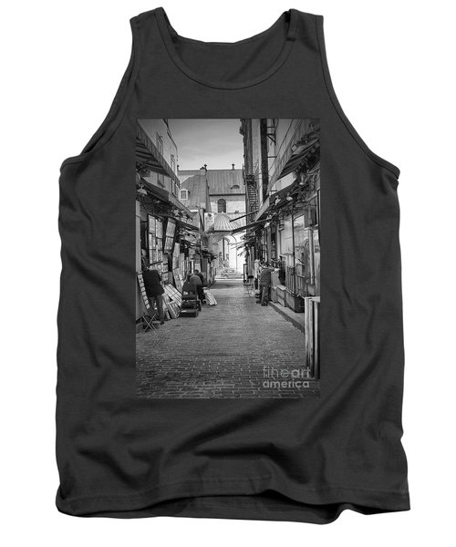 Tank Top featuring the photograph Les Artistes by Eunice Gibb