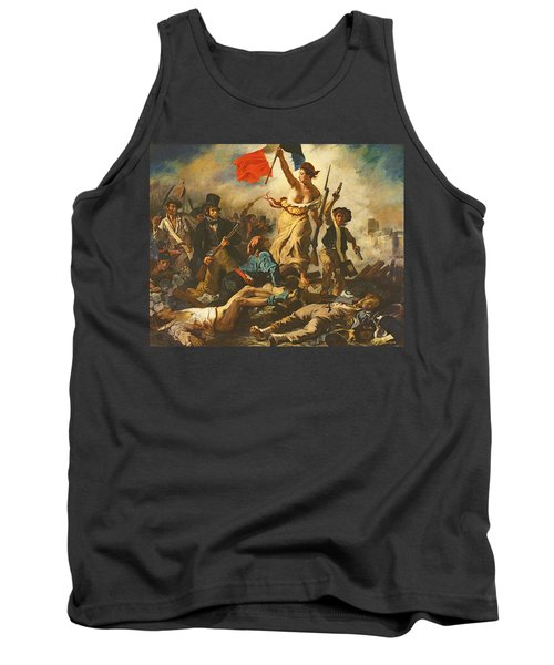 Liberty Leading The People, 28 July 1830 Tank Top