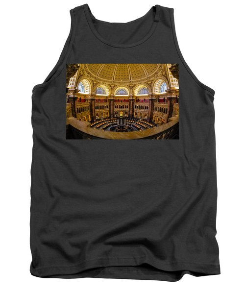 Library Of Congress Main Reading Room Tank Top