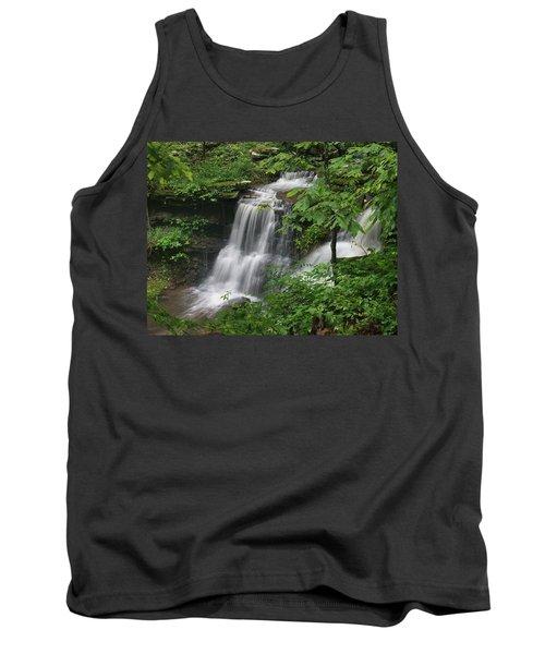 Lichen Falls Ozark National Forest Tank Top