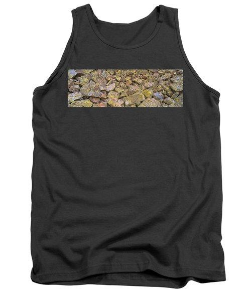 Lichens On Rocks At Yankee Boy Basin Tank Top