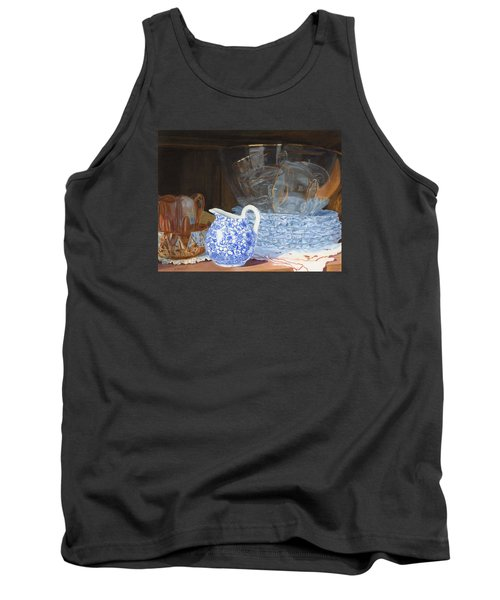 Tank Top featuring the painting Life Is A Carnival Glass by Lynne Reichhart