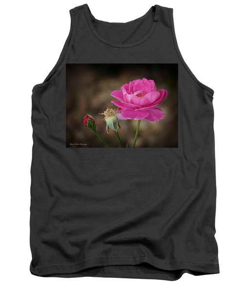 Tank Top featuring the photograph Life by Lucinda Walter