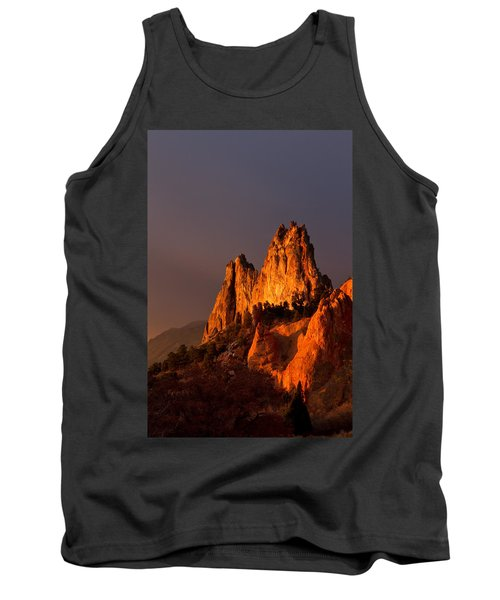 Tank Top featuring the photograph Light On The Rocks by Ronda Kimbrow