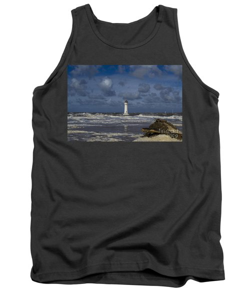lighthouse at New Brighton Tank Top