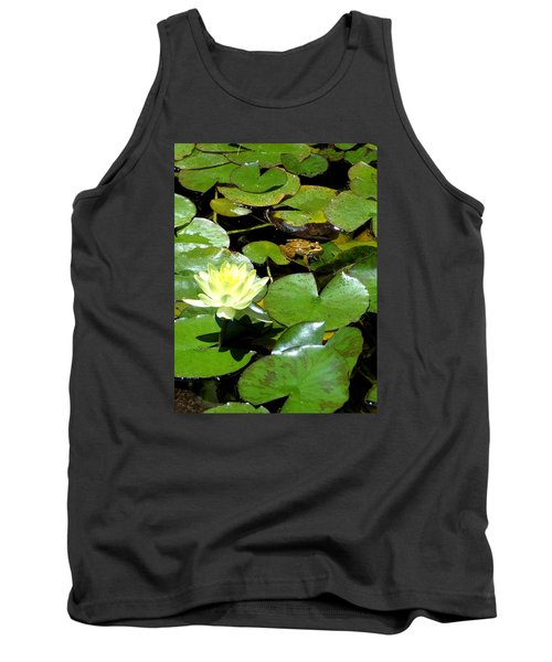 Lily And Amphibian Friend Tank Top