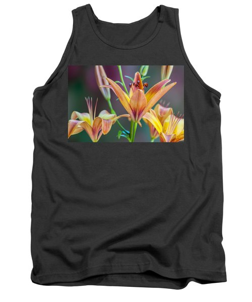 Lily From The Garden Tank Top