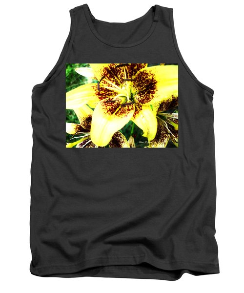 Tank Top featuring the photograph Lily Love by Shana Rowe Jackson