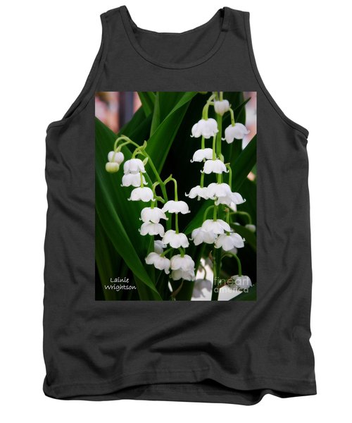 Lily Of The Valley Tank Top by Lainie Wrightson