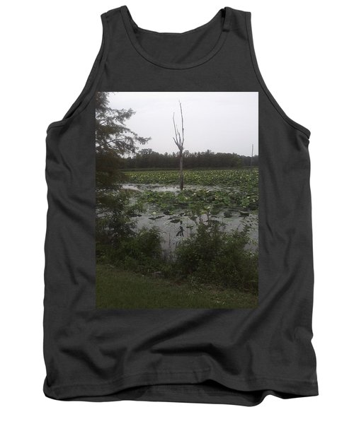 Tank Top featuring the photograph Lily Pads by Fortunate Findings Shirley Dickerson