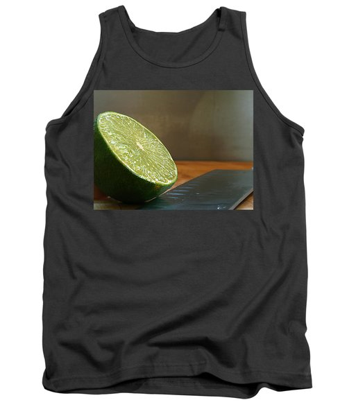 Tank Top featuring the photograph Lime Blade by Joe Schofield