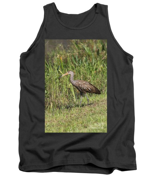 Limpkin With Apple Snail Tank Top by Christiane Schulze Art And Photography