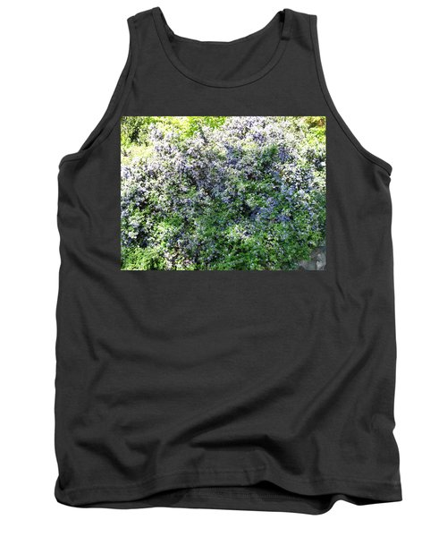 Lincoln Park In Bloom Tank Top by David Trotter
