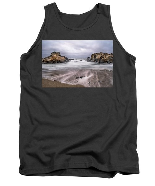 Lines In The Sand Tank Top by Linda Villers