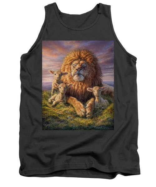 Lion And Lambs Tank Top