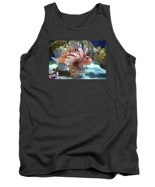 Lionfish Tank Top by Sandi OReilly