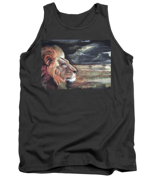 Lions Domain Tank Top by Peter Suhocke
