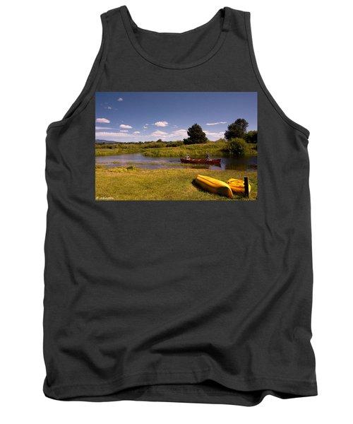 Little Deschutes River Bend Sunriver Thousand Trails Tank Top