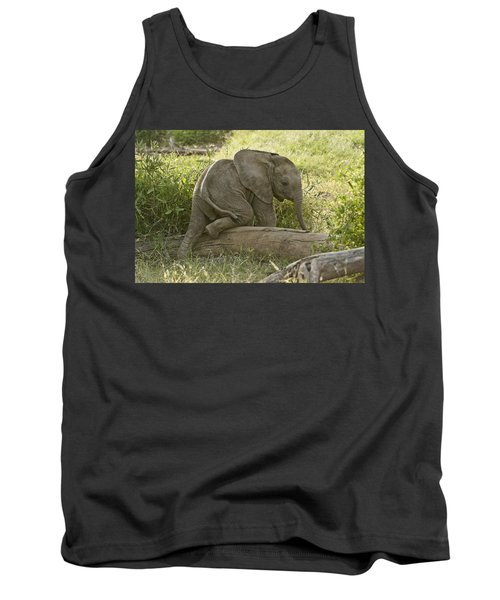 Little Elephant Big Log Tank Top