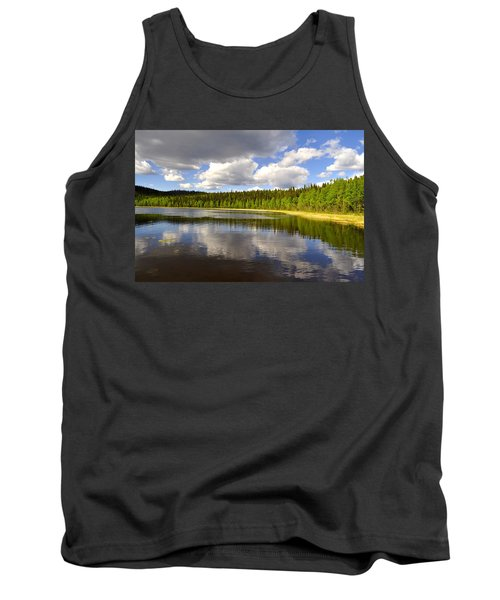 Tank Top featuring the photograph Little Lost Lake by Cathy Mahnke