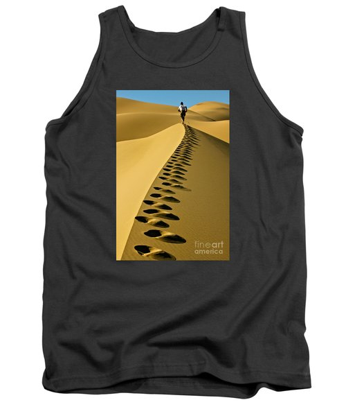 Live On The Edge Tank Top by Michael Cinnamond
