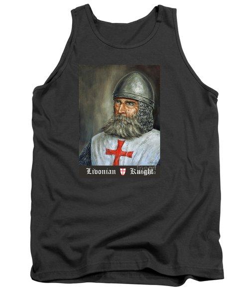 Knight Templar Tank Top by Arturas Slapsys